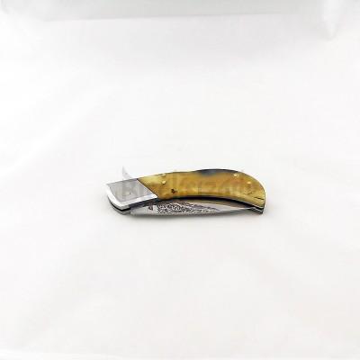 Kemik Saplı Kilitli Cep Çakısı