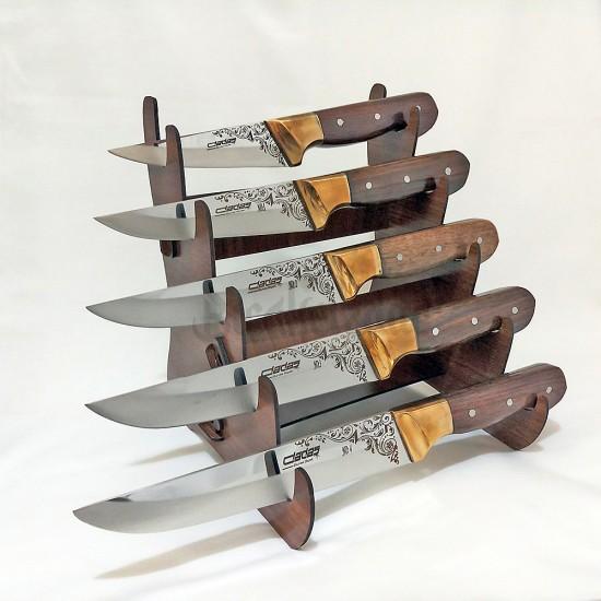 Dadaş Wenge Saplı Mutfak Bıçak Seti
