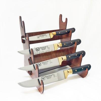 Sürmene Wenge Saplı Mutfak Bıçak Seti