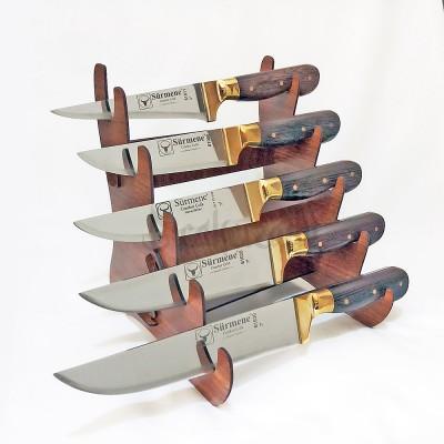 Sürmene Wenge Saplı Kasap Bıçak Seti